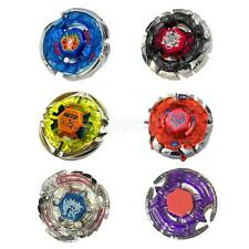 Set of 6pcs/Lot Metal Fusion Top 4D Beyblades Rapidity Fight Master Kid Toy