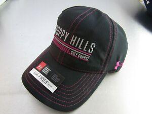 UNDER ARMOUR Poppy Hills Pebble Beach CA Adjustable Hat Blue New UA16