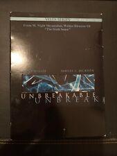 Unbreakable (Dvd, 2001, 2-Disc Set, Vista Series) Bruce Willis