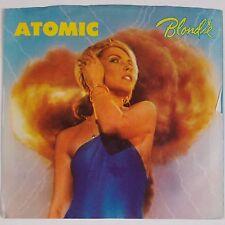 BLONDIE: Atomic CHRYSALIS USA 45 w/ PS Debbie Harry USA