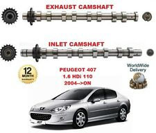 FOR PEUGEOT 407 1.6 HDI 110 2004 >ON NEW INLET & EXHAUST ENGINE CAMSHAFT