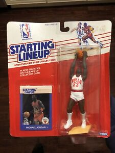 Michael Jordan RARE 1988 SLU Starting Lineup Chicago Bulls