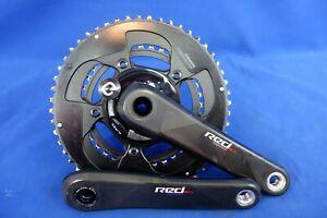 Sram Red Carbon GXP Bike Crankset, Quarq DZero Power Meter, 52/36t 11spd, 172.5