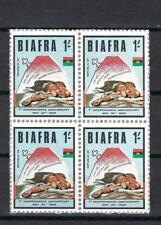 1968 Biafra Sc# 18 Igbo victim of 1966 Nigeria pogrom 1sh block 4 Mnh
