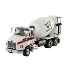 1/50 Western Star 4700 SF Concrete Mixer Vehicle DM 71035 White Drum Collection