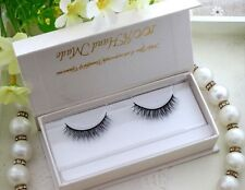Natural 100%Real Mink False Eye Lashes Mink Fake Eyelashes Extensions For Makeup
