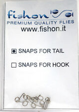 Paolo Pacchiarini´s SNAP FOR TAIL 10 Stück fishon 10 x Snap for Tail