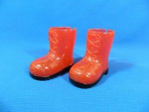 "Red Glitter Rain Boots Fits American Girl Battat Our Generation 18"" Dolls ~SWEET"