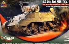 Mirage - U.S. Light Tank M5A1 Mid. Normany Lipiec 1:72 Modell-Bausatz NEU Panzer