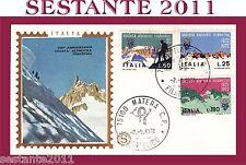 ITALIA, FDC FILAGRANO ,1972,SOCIETA' ALPINISTI TRIDENTINI, ANNULLO MATERA  (37)