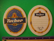 Beer Bierdeckel Coaster ~ TUCHER Weizenbrauhaus ~*~ Nurnberg, Germany Since 1672