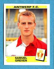 FOOTBALL 96 BELGIO Panini - Figurina-Sticker n. 55 -S. GREVEN-ANTWERP-New