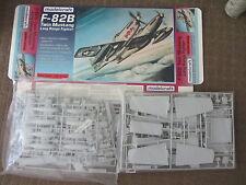 "4 KITS of MODELCRAFT 1/48TH F-82B TWIN MUSTANG ""BETTY JOE"" PLASTIC MODEL KITS"