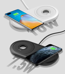 Baseus 2 in 1 Fast Wireless CHARGER Pad Multi-angle Charging