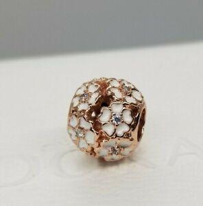 Pandora 781488EN12 White Primrose Meadow Bead new Rose Collection