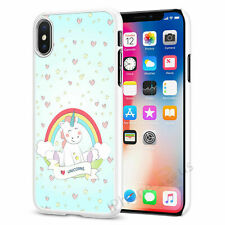 Cute Unicorn Phone Case Cover For iPhone Samsung Huawei Sony OnePlus 078-4
