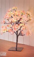 Natale 42 cm LED Cherry Blossom Albero con 32 Luci LED Bianco Caldo