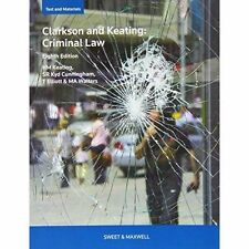 Clarkson & Keating: Criminal Law: Text and Materials-ExLibrary