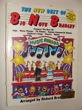 1990 Best of Big Note Richard Bradley Pops, Kids, Movie & Tv Theme songs Piano