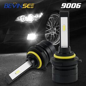 9006 Fits For BMW 750i 750Li 760Li 2006 2007 2008 LED Fog Driving Light Bulb Kit