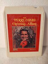 Perry Como Christmas Album RCA 1968 Eight 8 Track Tape et296