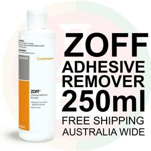 ZOFF UNIVERSAL ADHESIVE REMOVER 250ML REDUCES TRAUMA FROM ADHESIVE REMOVAL