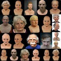 Another The Elder Old Man Headgear Masquerade Halloween Realistic Headgear Decor