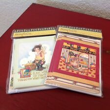 Mary Engelbreit Note Cards Lot of 2 Packs Put Your Heart In It~ 16 Total~ New