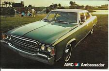 AMC Ambassador Sedan Dealer Postcard  Unposted