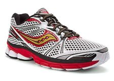 New Saucony Men 'ProGrid Guide 5' Running Shoes, White/Red/Gold, US 12.5