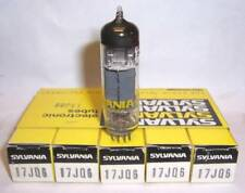 SLEEVE OF 5 NEW IN BOX SYLVANIA 17JQ6 OUTPUT / DIODE  TUBES / VALVES