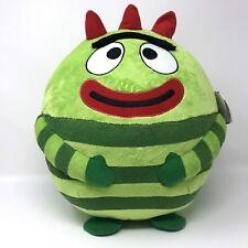 Ty Beanie Ballz plush 35 inch round BROBEE Yo Gabba Gabba Stuffed Animal  2013 695909f0d0e0