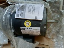 Weg Electric Motor Model 7536es3ejp562 34 Hp 3 Phase New Old Stock