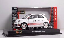 Bburago 38113 ABARTH 500 #49 - METAL RACE Scala 1:43