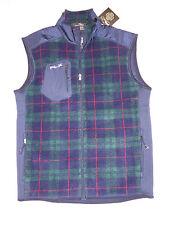 RLX Ralph Lauren Golf Tartan VEST Fleece Jacket _MD_
