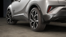 Genuine Toyota CH-R Mud Flaps / Mud Guards - Front and Rear