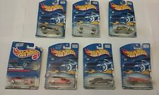 Lot of 7 Hot Wheels Die Cast Cars NIP Collector# 229,227,088,078,153,052,022