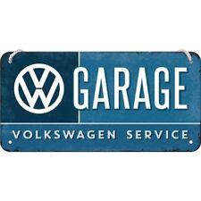 Hängeschild VW Garage 10x20 cm Länge/Breite