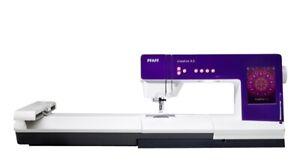PFAFF Creative 4.5 Embroidery Machine + Embroidery Unit