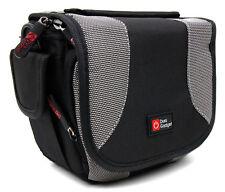 Silver/Black Case w/ Shoulder Strap For Fujifilm FinePix S1, FinePix X100s & X20