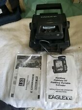 EAGLE FISH EASY portable Fish finder complete including Manual new open box