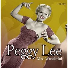 PEGGY LEE - MISS WONDERFUL 4 CD NEU
