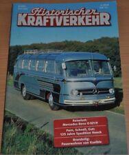 Historischer Kraftverkehr HIK 6/01 MB O 321 H 125 Jahre Heeck Feuerwehr Kaelble