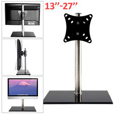 "Single Computer Monitors Arm Mount Desk Stand 13-27""Screen LED TV Bracket Mounts"