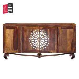 French Arched Mirror Doors Sideboard 180 x 40 x 90 cm (MADE TO ORDER)