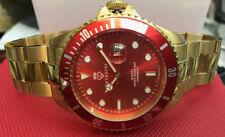 Diver's Quartz Watch 30 Bar WD Massive in Ferrari Red New Series XXL Large 45mm