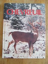 Chevreuil Sentier chasse-pêche Prospection Armes +33 tours Deer Hunting 1986
