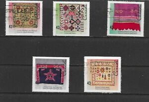 Canada 1993 Hand Crafted Textiles Used (9)