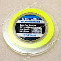 NEW Sea Lion 100% Dyneema Spectra Braid Fishing Line 500M 20lb yellow