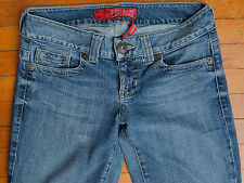Guess Daredevil Bootcut Flare Womens Jeans Size 29 Blue Inseam 30